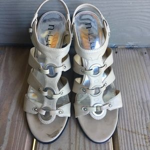 N by Nicole Miller Heel Sandals Shoes Size 8M